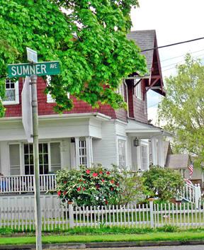 Historic house on Sumner Avenuee