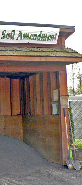 The shed offers Bonney Good Sumner Grow--and use of a shove--for free!