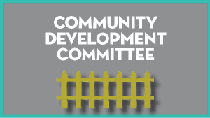 Community Development Committee @ Virtual Only