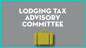 Lodging Tax Advisory Committee @ Virtual Only